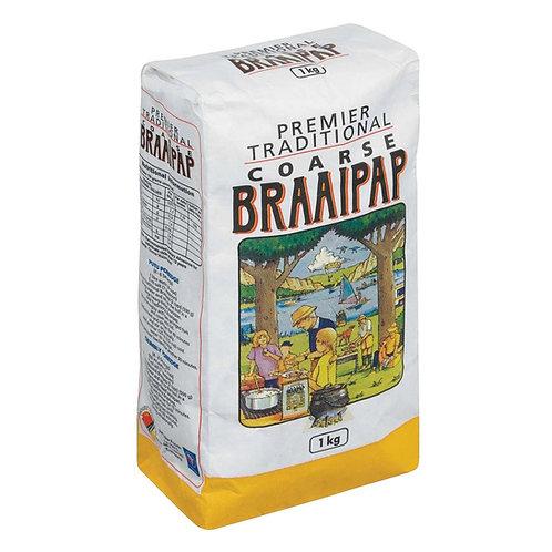 Premier Coarse Braaipap 1kg