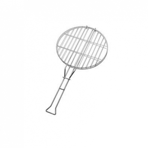 Braai Grid Round (chrome) 30cm