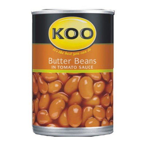 KOO Butter Beans in Tomato sauce