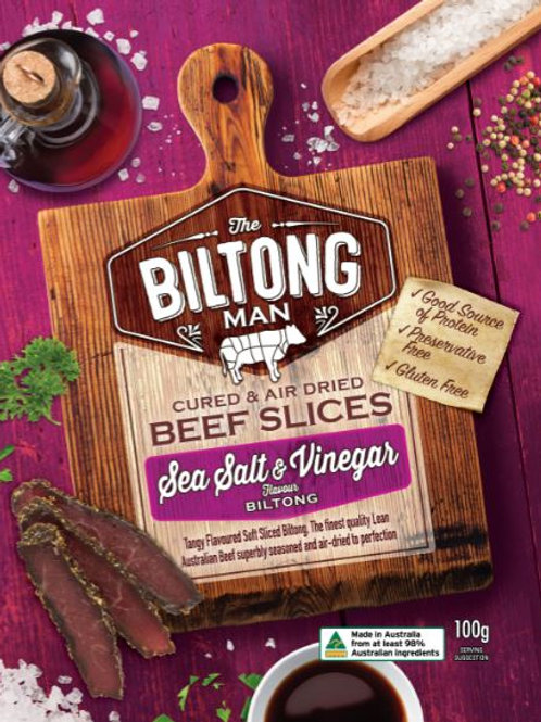 Salt & Vinegar Biltong Packet