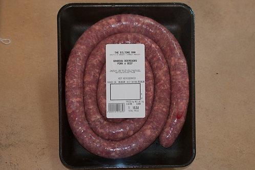 Grabouw Boerewors (Contains Pork) 1kg