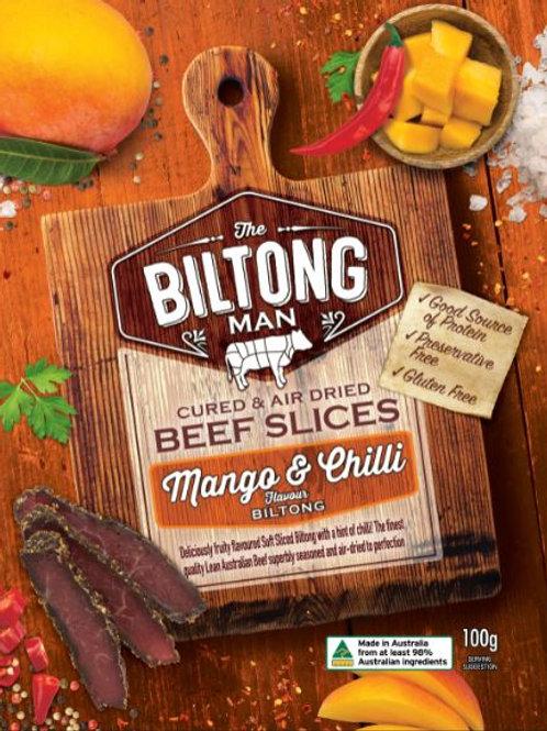 Mango & Chilli Biltong Packet