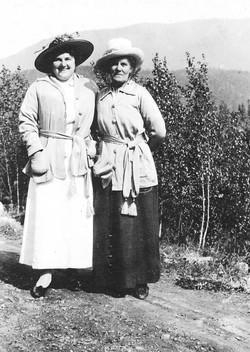 Miss Venatta and Mrs Finlayson