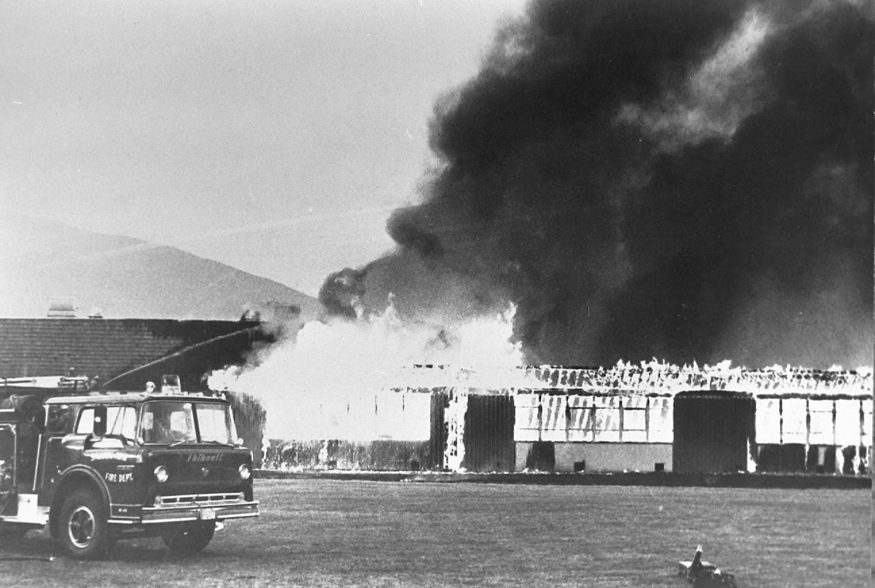 School Fire 1975
