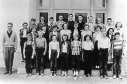 ERS grades 7 8 9 Teacher Gordon Munro 1953