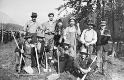 Road Crew at Solsqua in 1917