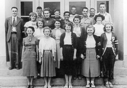 Eagle River School 1952-53 Ron Lyons teacher
