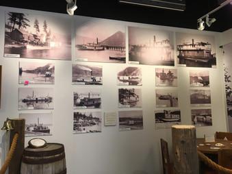 Steamboats and Paddewheel Ships