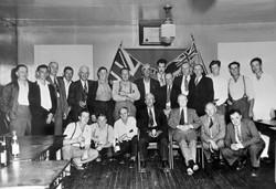 Sicamous Legion in 1945