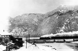Mid Winter Train
