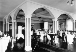 Dining Room in CPR Hotel