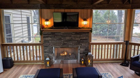 Custom Screened Porch by Northern Deckworks