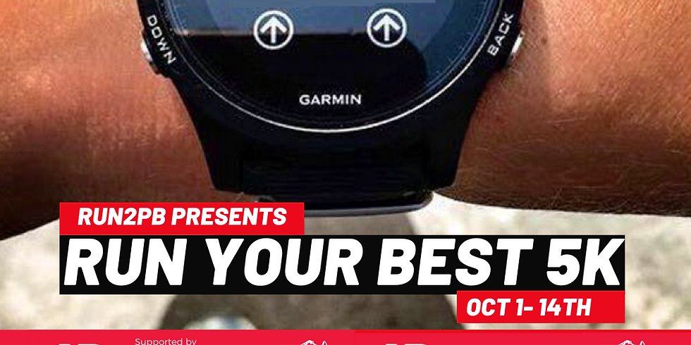 RUN YOUR BEST 5K - Virtual Event - Sponsored by New Balance & The Running Company - Yarraville
