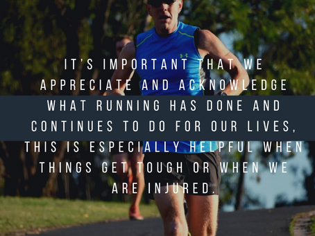 Two Questions Every Runner Should be asking themselves.