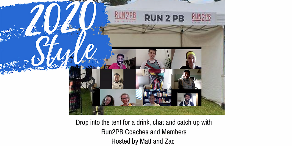 Run2PB - Members Only - VIRTUAL RACE TENT
