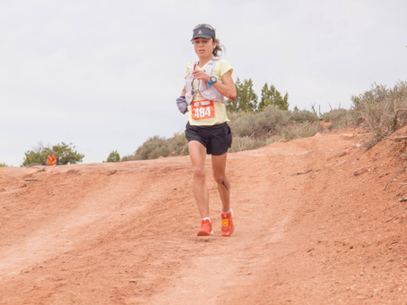 Dancing Down: How to get confident descending down trails with these tips from Steph Auston.