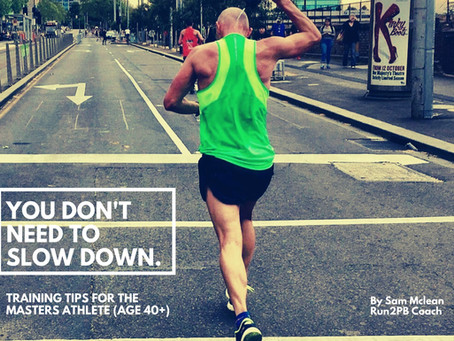 Training Tips for a Masters Distance Runner