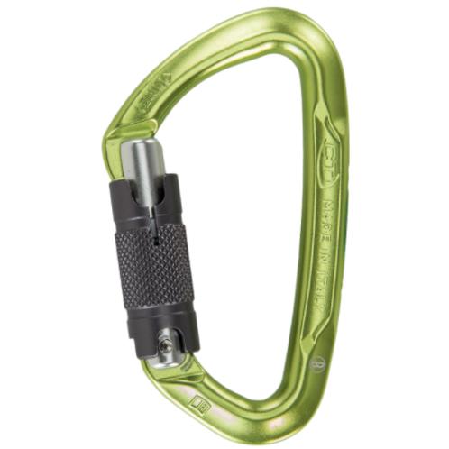 CT Lime Twist Lock or Screw Gate Carabiner