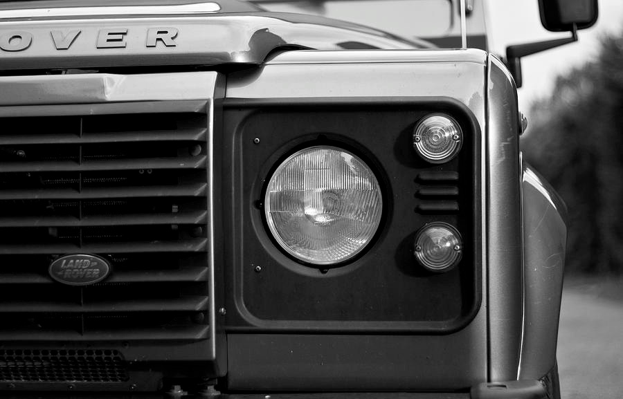 Defender close up_Fotor bw