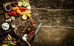 Steak and vegetable medley