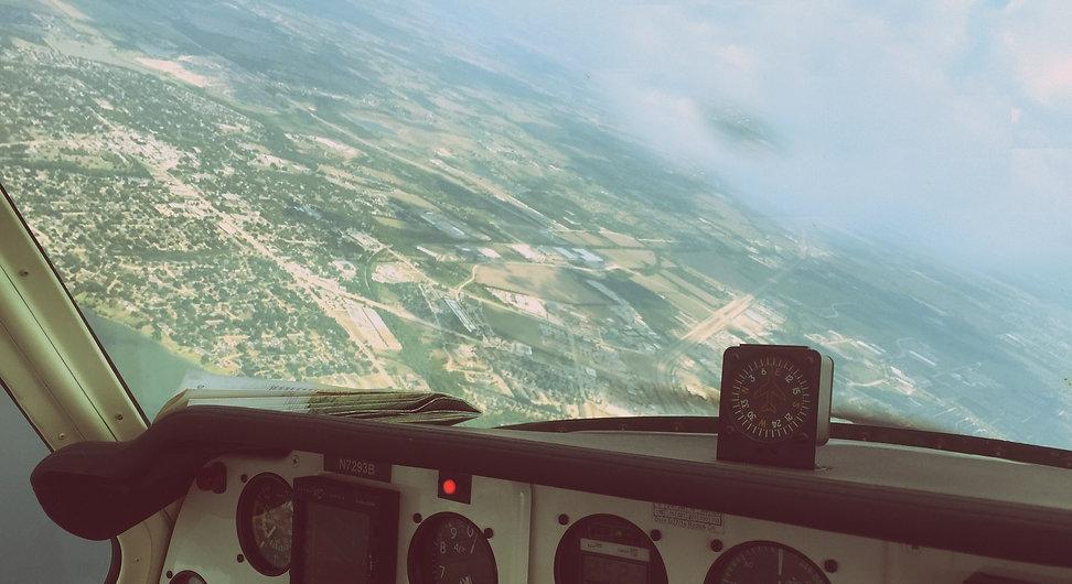 inside of plane