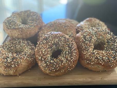 Fresh Bagels for Brunch, Not as Hard as You Think!