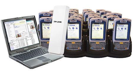 barcode scanner rental
