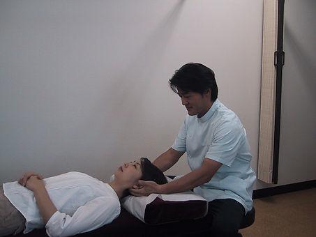 頸椎の触診