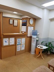 整体院の待合室