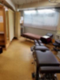 整体院内のカイロ専用ベッド