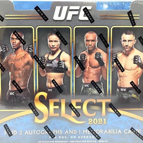 2021 Select UFC Hobby Box