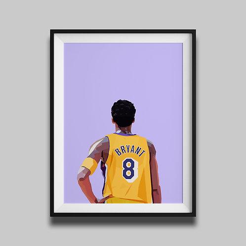 Kobe Bryant - Pastel
