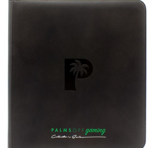 Palms Off Gaming - Collectors Series 12 Pocket Zip Binder