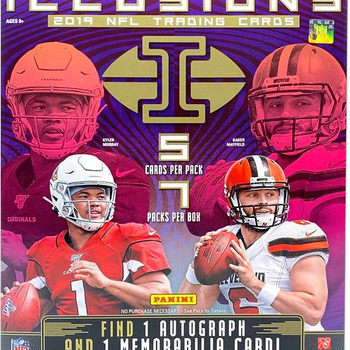 2019 NFL Panini Illusions Mega Box