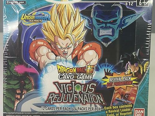 Dragon Ball Super TCG Unison Warriors Series 03 Vicious Rejuvenation Pack