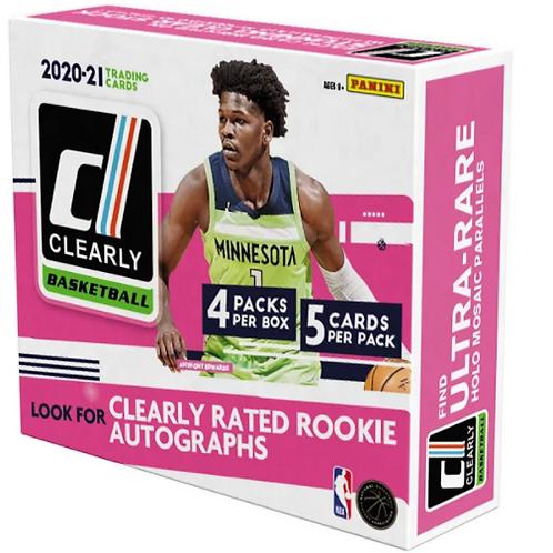 20-21 NBA Clearly Donruss Hobby Box