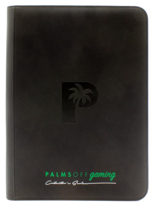 Palms Off Gaming - Collectors Series 9 Pocket Zip Binder