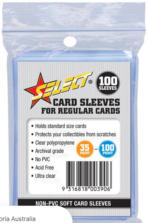 Select Card Sleeves - Regular
