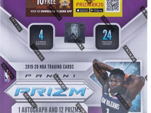 2019-20 NBA Prizm Retail Box