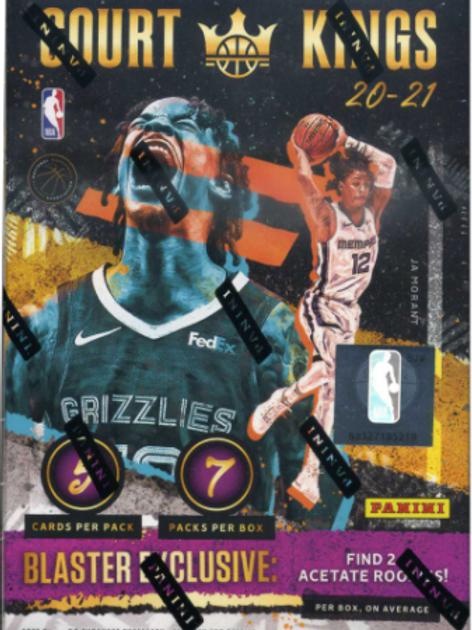 2020-21 NBA Court Kings Blaster Box