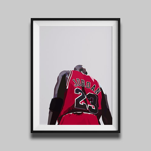 Michael Jordan - Grey