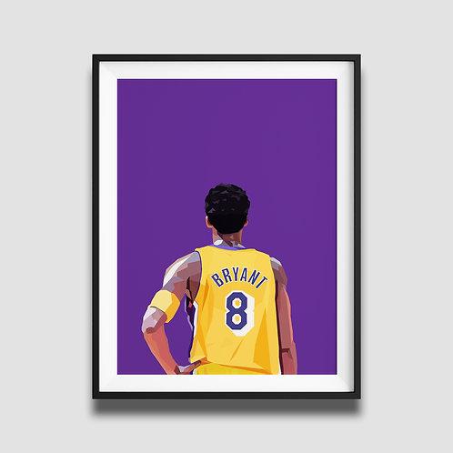 Kobe Bryant - Purple