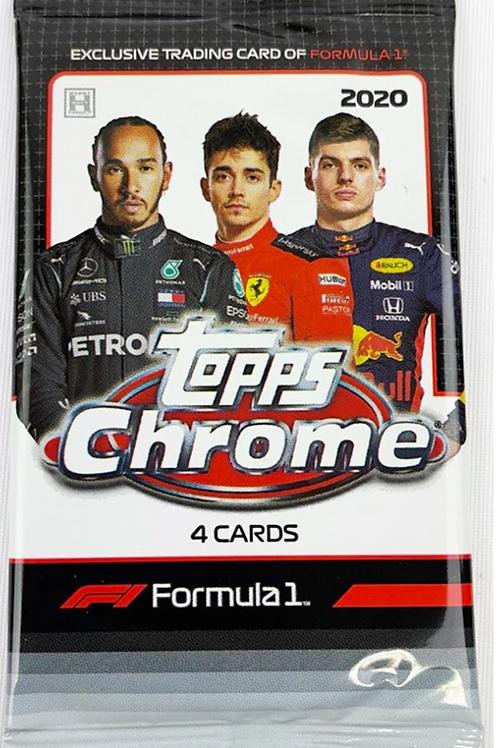 2020 F1 Topps Chrome Hobby Pack