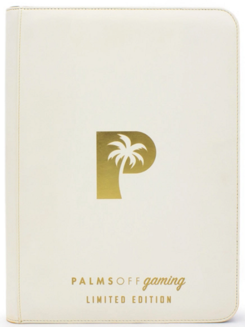 Palms Off Gaming - Limited Edition 9 Pocket Zip Binder