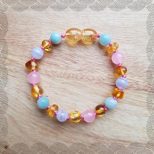 Bracelet/anklet for a colicky baby (girl)