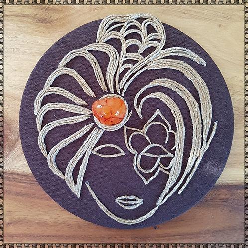 Fire Lady with carnelian stone