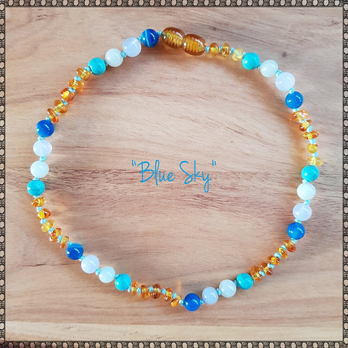 """""""Blue Sky"""" necklace"""