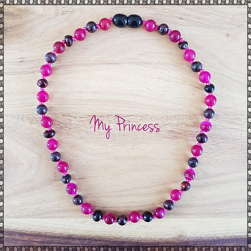 """""""My Princess"""" knotted necklace"""