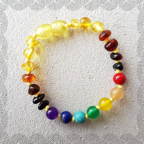 Rainbow Baby Anklet/Bracelet