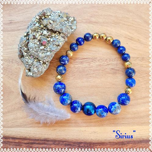 """Sirius"" gemstone bracelet"